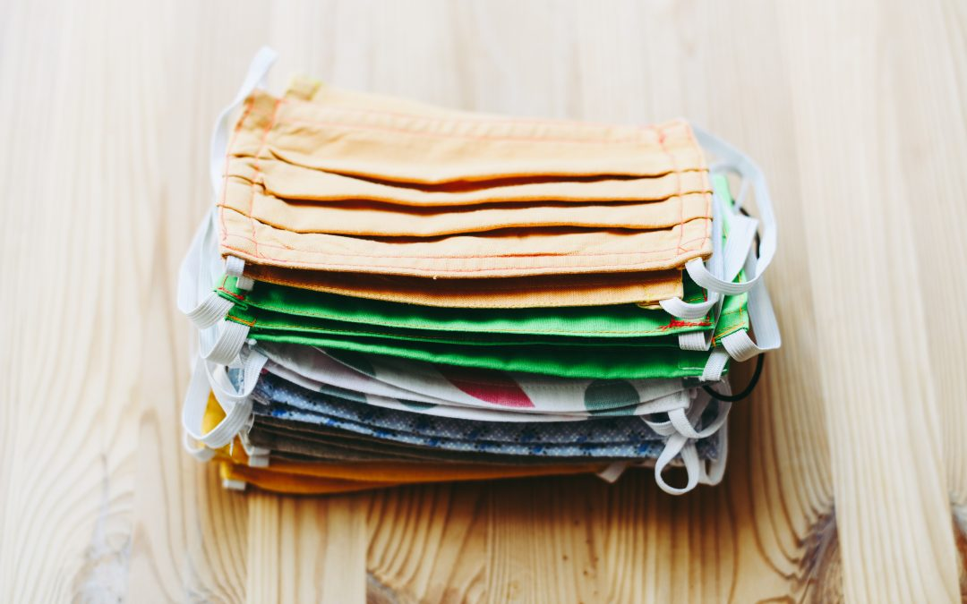 stack of face masks